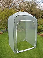 Garden Pop-Up Poly House Green House Cover - 1.85 metre High x 1m x 1m