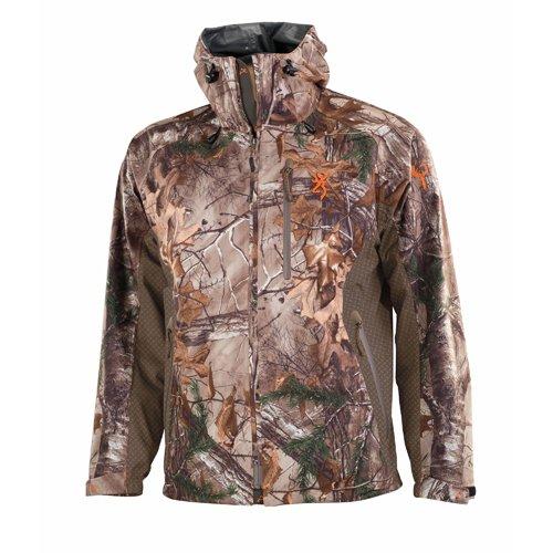 Browning hell' S Canyon Packable Rain Jacket Realtree Xtra