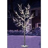 120 Led Leuchtbaum Lichterbaum 1,8m mit Kunstschnee Weihnachstbaum Christbaum