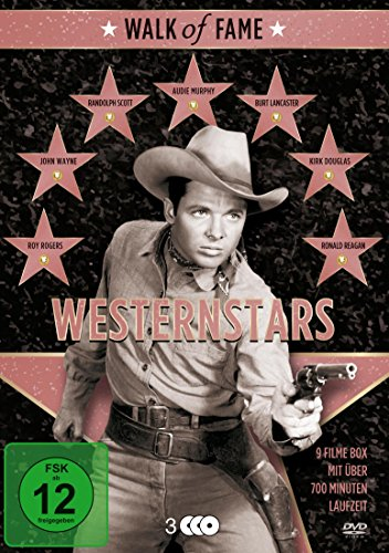 Walk of Fame - Westernstars (9 Filme auf 3 DVDs)