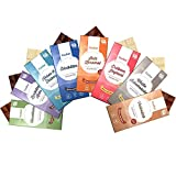 8 x Xylit Schokolade im Mix Probierset Xucker Schokolade Genussleben Mix
