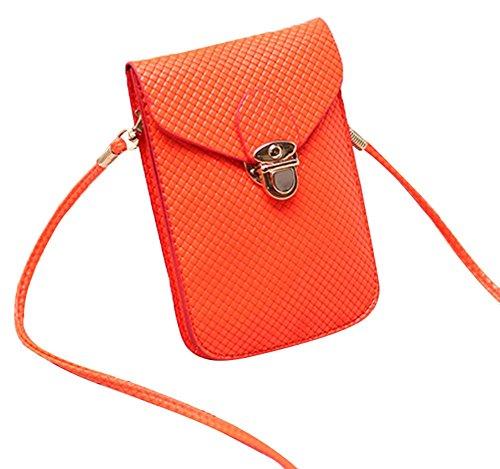 Fashion Bag, Borsa a tracolla donna rosa 7# 2#