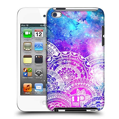 Head case designs galassia mandala sogno doodle cover dura per parte posteriore compatibile con apple ipod touch 4g 4th gen