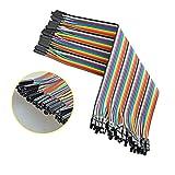 Neuftech 40x 20cm female female Jumper Wire Kabel Drahtbrücken für Breadboard Arduino Raspberry Pi