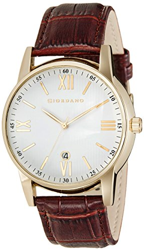 Giordano Analog White Dial Men's Watch - 60050-03