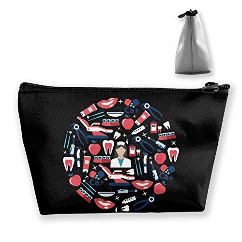 Trapez-Kulturbeutel Tragbare Reisetasche Medizin Gesundheitswesen Kosmetiktaschen