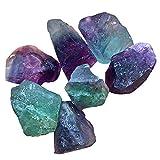 cristallo di quarzo fluorite naturale pietra alla rinfusa grezza pietra bocciardata pietra preziosa arcobaleno per il taglio del tassello lapidario tumbling lucidatura wicca reiki cristallo guarigione