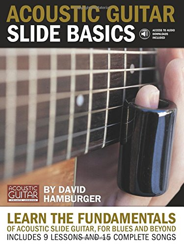 Acoustic Guitar Slide Basics Guitare +CD