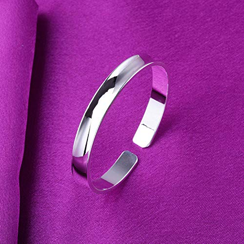 Relovsk Armband Retro-Silber-Armband Einfache Retro-Silber-Armband Eröffnung Chaiselongue Koreanische Mode Wilde...