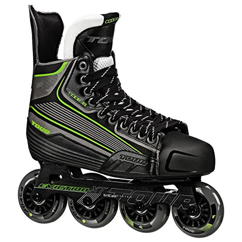 Tour Hockey Code 9 SR Inline Hockey Skate Mens 10 Einfarbig