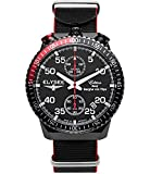Elysee Reloj los Mujeres GRAF Berghe Von Trips Rally Timer I Cronógrafo 80522N