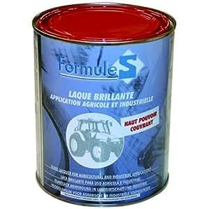 Peinture laque de finition rouge Massey Ferguson la 5029 - 1 litre