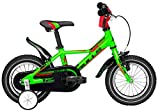Kinder Fahrrad 12 Zoll grün - Bulls Tokee Lite - Rücktrittbremse, Kunstoffkettenschutz