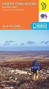 OS Explorer OL27 North York Moors - Eastern area (OS Explorer Map)
