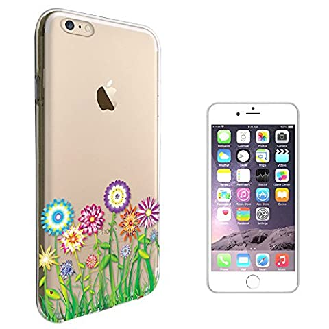 c00712 - Hippie Flower Patch Summer Spring Colourful Design iphone