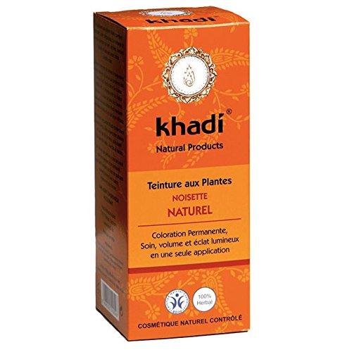 Khadi Natürliches Nussbraun Test
