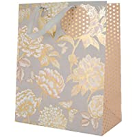 Floral Gift Bag 'Hearts' - Large
