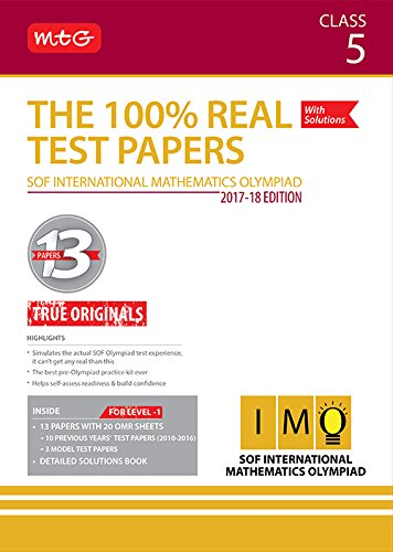 The 100% Real Test Papers (IMO) Class 5