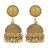 Bling N Beads Antique Golden Dangling Jh...