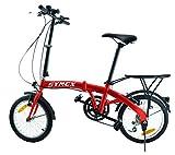 Symex Vélo pliant 16' 6 vitesses Shimano -...