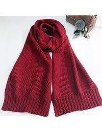 5cd96a4ae714 GO FL Écharpe en Laine tricotée pour Homme et Femme Unisexe Japon ...