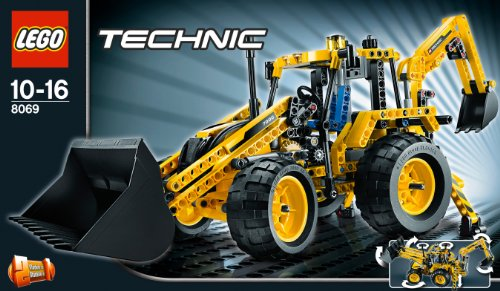 Imagen principal de LEGO Technic 8069 - Retrocargadora