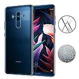 TopACE Huawei Mate 10 Pro Hülle, TPU Hülle Schutzhülle Crystal Case Durchsichtig Klar Silikon Transparent für Huawei Mate 10 Pro (Transparent)