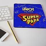 """Alfombrilla para ratón regalo original día del padre """"¿es un avión? No, es mi super papá"""""""