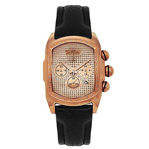 Joe Rodeo diamante da uomo orologio - KING oro rosa 0,36 CTW