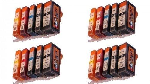 start-4-jeu-20-cartouches-avec-puce-dencre-compatible-chip-pgi-cli-525-526-noir-grande-petite-cyan-m