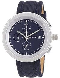 Tectonic 41-6908-99 - Reloj de cuarzo para hombres, color azul