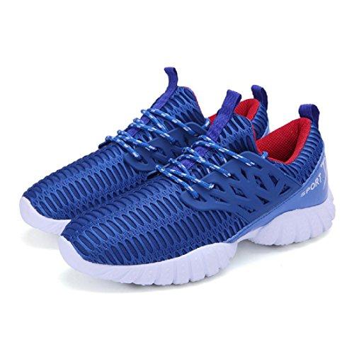 Herren Atmungsaktiv Sportschuhe Ausbildung Wandern Reiseschuhe Laufschuhe Ausbilder Blue
