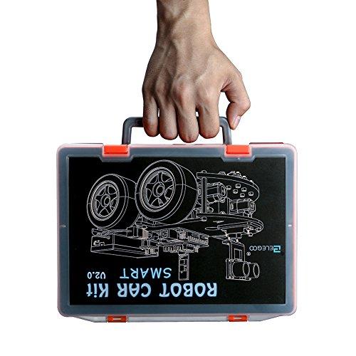 Elegoo kit voiture robot v arduino uno projet car avec