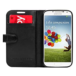 Capdase Folder Sider Classic Case for Samsung Galaxy S4 (Black)