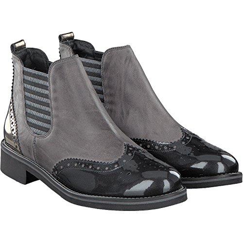 Paul Green | Chelsea Boot Softnubuk - black Grau