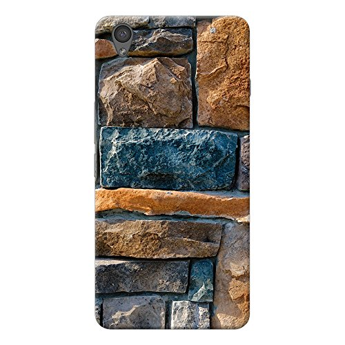 INKIF bricks design Designer Case Printed Mobile Back Cover for One plus X /Oneplus x (Multicolor)