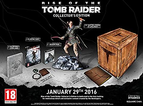 Rise of the Tomb Raider - édition