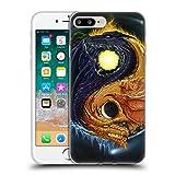 Head Case Designs Offizielle Ed Beard Jr Yinyang Drachen Fantasie Soft Gel Hülle für Apple iPhone 7 Plus/iPhone 8 Plus