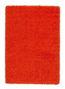 Shaggy Rug 11 Colours 963 Plain 5cm Thick Soft Pile Modern 100% Berclon Twist Fibre Non-Shed Polyproylene Heat Set by AHOC