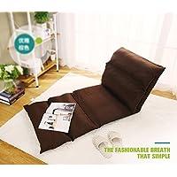 Buen sofá Pelo crujido perezoso plegable sofá silla trasera solo ordenador pequeño sofá ...