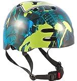 Sport Direct Boy's No Bounds BMX Helmet - Blue/Green, Size 55-58