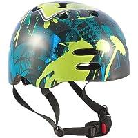Sport Direct Boy's No - Casco para niño, tamaño 55-58, color azul/verde