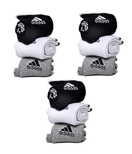 Adidas-Cotton-Towel-Ankle-socks-6-pairs