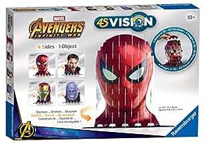 Ravensburger 18047 4S Vision: Avengers Infinity Spider-Man & Co