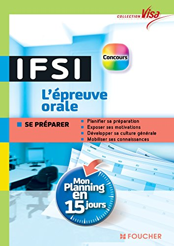 Visa - Concours IFSI - L'épreuve or...