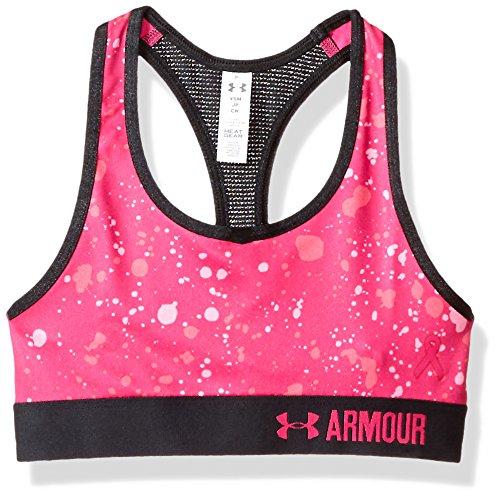 Under Armour Mädchen Novelty Bra Sport, Tropic Pink, YXS