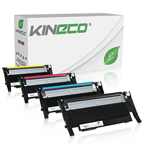 4 Toner kompatibel zu Samsung CLP-360 CLP360 für Samsung Xpress C460W/TEG, Xpress...