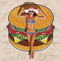 Descrizione: Tipo di pietra: rotonda Beach mat Applicazione: ideale per i viaggi, pic-nic, spiaggia, piscina, ecc. Formato dell' articolo: 150cm*150cm Peso: 200g Stile: stile europeo Tema: cibo/frutta/emoji Modello: frutta-type1anguria,...