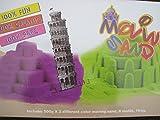 Magic Sand 1 kg inkl. Zubehör Spielsand Zaubersand Knetsand Knete Magischer Sand