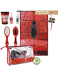 Cerdá Spiderman Neceser de Viaje, 23 cm, Rojo